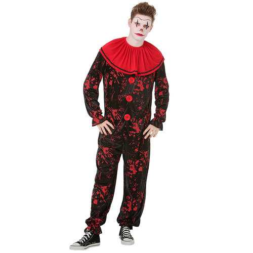 Crimson Clown Costume, M