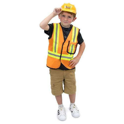 Construction Worker Children's Costume, 3-4