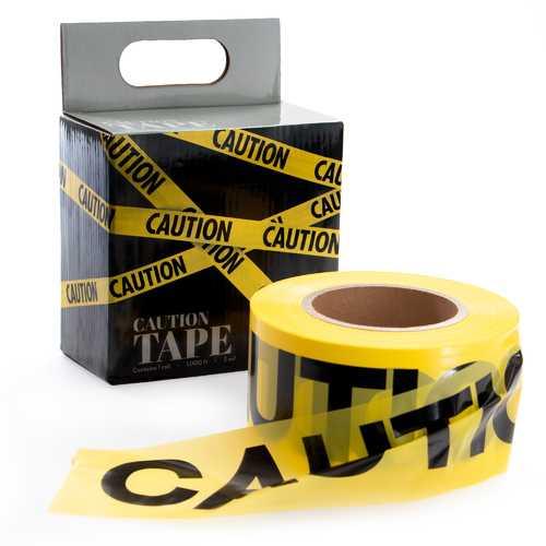 Caution Tape, 1000-foot