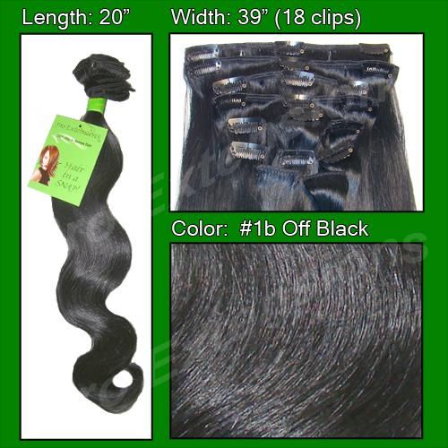 #1b Off Black - 20 inch Body Wave