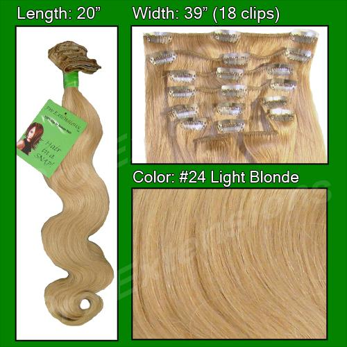 #24 Light Blonde - 20 inch Body Wave