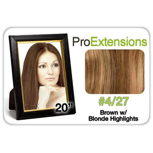 "Pro Fusion 20"", #4/27 Brown w/Blonde Highlights"