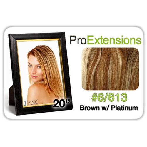 "Pro Fusion 20"", #6/613 Chestnut Brown w/Platinum Highlights"