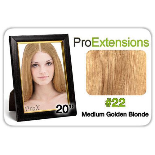 "Pro Lace 20"", #22 Medium Golden Blonde"
