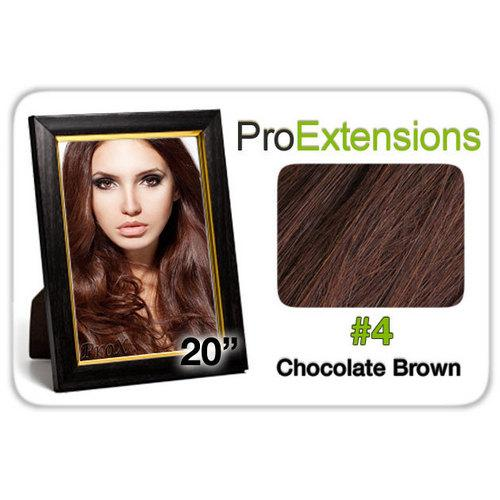 """Pro Lace 20"""", #4 Chocolate Brown"""