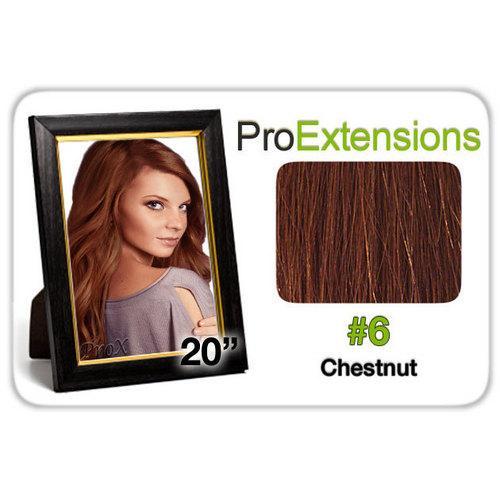 "Pro Lace 20"", #6 Chestnut Brown"