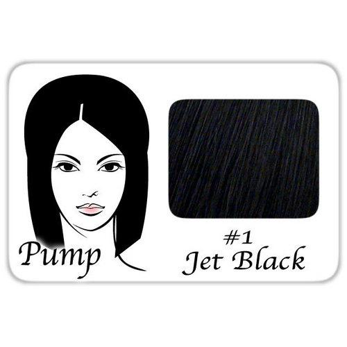 #1 Jet Black Pro Pump - Tease With Ease