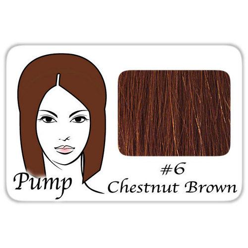 #6 Medium Chestnut Brown Pro Pump - Tease With Ease
