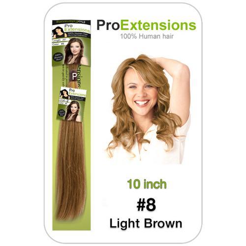 #8 Light Brown - 10 inch