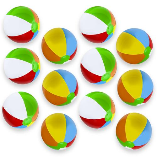 """12-Pack 16"""" Beach Balls"""
