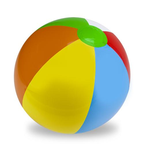 "24"" Six-Color Beach Ball"