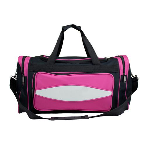 20 Inch Pink 600HD Tuff Cloth Canvas Duffel Bag