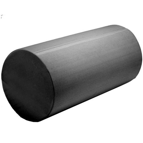 "Black 12"" x 6"" Premium High-Density EVA Foam Roller"
