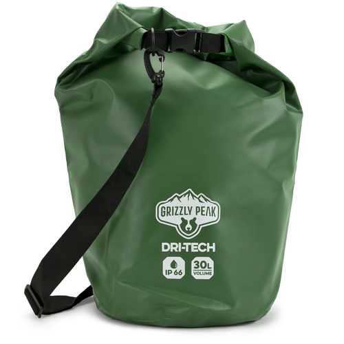 Dri-Tech Waterproof Dry Bag, 30 Liter