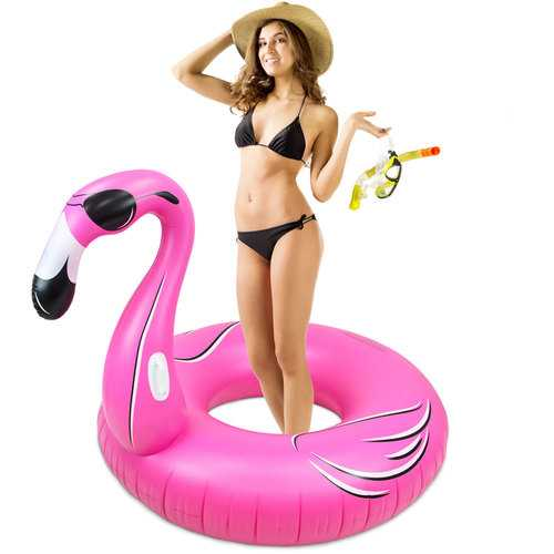 5Ft Wide Flamingo Float