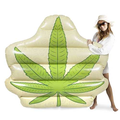 Jumbo Pot Leaf Pool Float