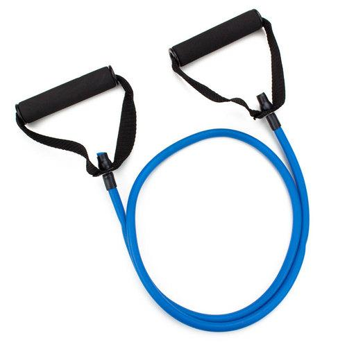 4' Blue Medium Tension (12 lb.) Exercise Resistance Band