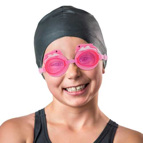 Dolphin Goggles, Pink