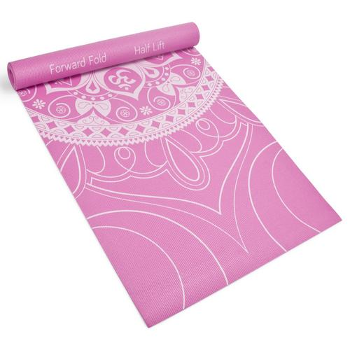 3mm Coral Premium Printed Yoga Mat