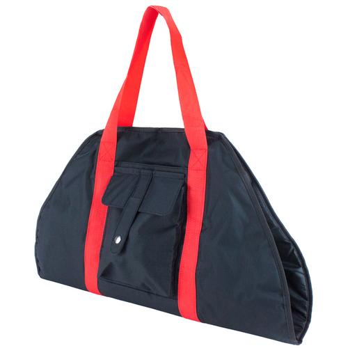 Black Yoga Mat Cargo Carrier with Adjustable Straps
