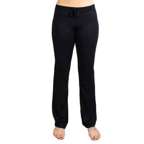 Medium Black Relaxed Fit Yoga Pants