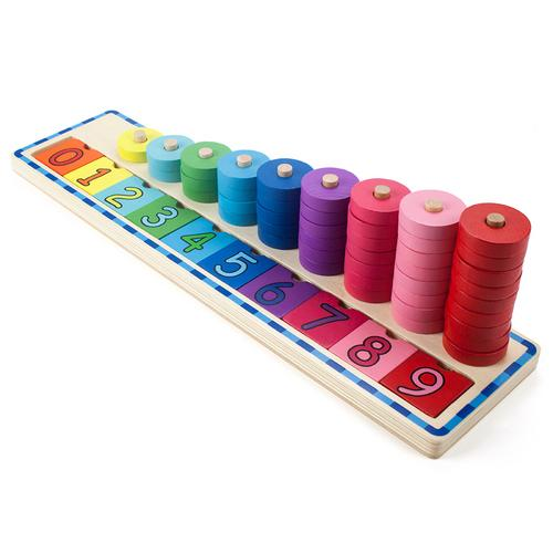 Colorful Counting Number Stacker