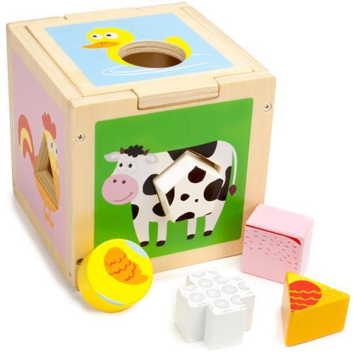 Busy Barnyard Sorting Cube