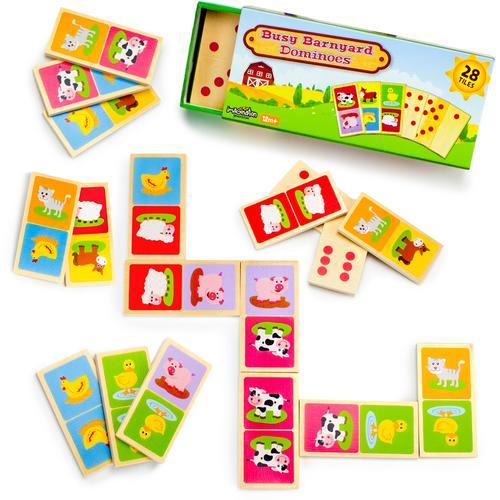 Busy Barnyard Dominoes