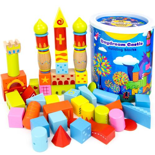 52-piece Daydream Castle Building Blocks