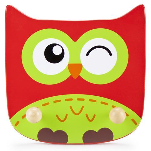 Wooden Owl Clothing Rack