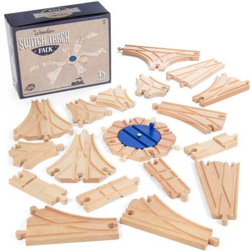 Switch Track Wooden Train Set