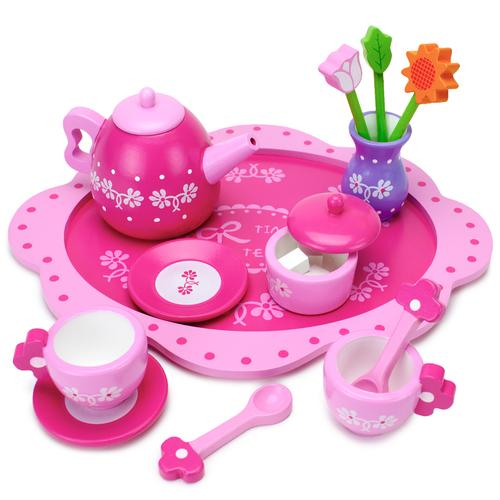 Pink Blossoms Tea Set for Two