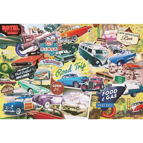 The Great American Roadtrip 1000 Piece Jigsaw Puzzle
