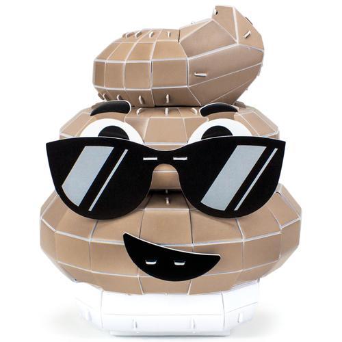 3D Foam Emoji Model, Deuces on the Loose