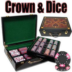 500 Ct - Pre-Packaged - Crown & Dice 14g - Hi Gloss