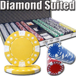 1,000 Ct - Pre-Packaged - Diamond Suited 12.5G - Aluminum