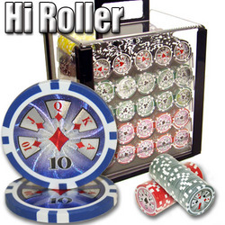 1,000 Ct - Pre-Packaged - Hi Roller 14 G - Acrylic