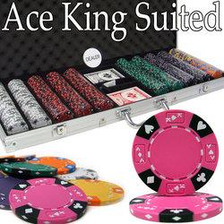 500 Ct - Pre-Packaged - Kings Casino 14 G - Aluminum