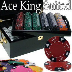 500 Ct - Pre-Packaged - Kings Casino 14 G - Black Mahogany