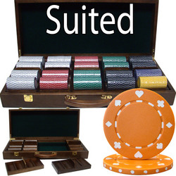 500 Ct - Pre-Packaged - Suited 11.5 G - Walnut Case