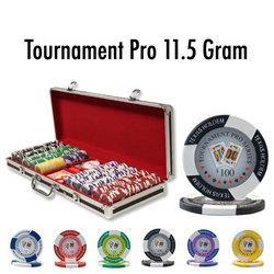 500 Ct - Pre-Packaged - Tournament Pro 11.5G Black Aluminum