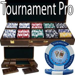 500 Ct - Pre-Packaged - Tournament Pro 11.5G - Walnut Case