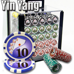 1,000 Ct - Pre-Packaged - Yin Yang 13.5 G - Acrylic