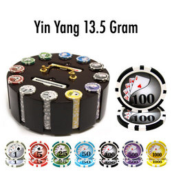 300 Ct - Pre-Packaged - Yin Yang 13.5 G - Wooden Carousel