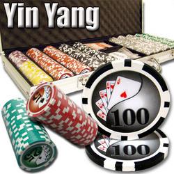 500 Ct - Pre-Packaged - Yin Yang 13.5 G - Aluminum