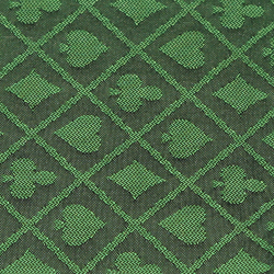 Category: Dropship Poker / Casino Supplies, SKU #GCLO-483, Title: 50 Meter Roll of Green Two-Tone Poker Table Speed Cloth