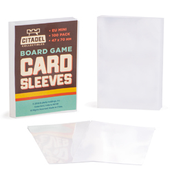 Eurpoean Mini Board Game Sleeves, 100-pack