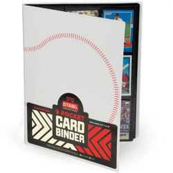 9-pocket Card Binder, Baseball