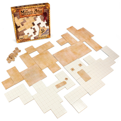 The Master's Atlas Worldbuilding Tiles, Blank/Parchment