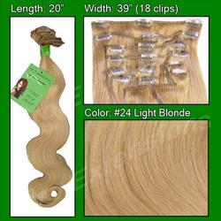 #24 Light Blonde - 20 inch Body Wave